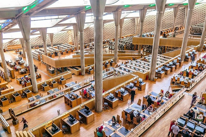 Alexandria Library – Egypt