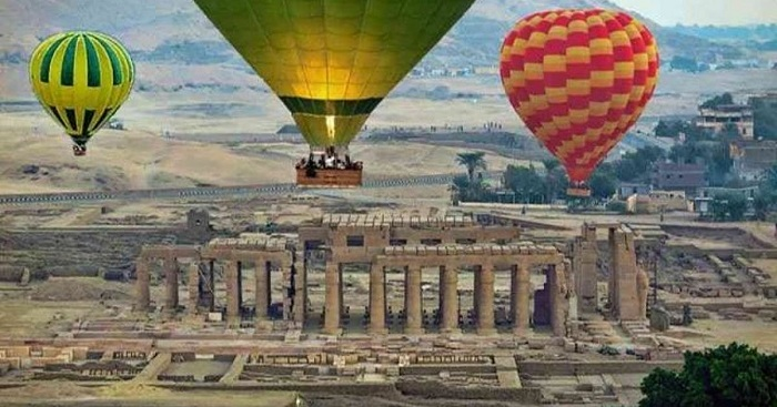 Luxor balloon ride – Egypt